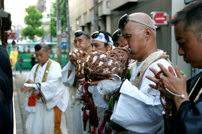 六地蔵詣り 地蔵尊