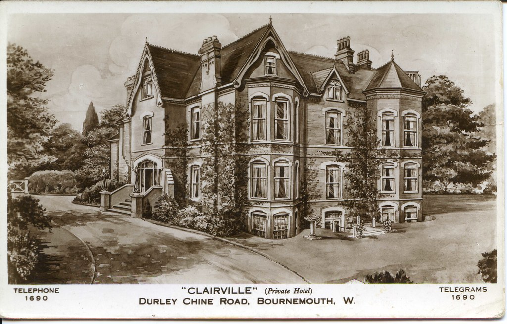 Clairville Hotel (Diplomat Hotel), 4 Durley Chine Road, Bournemouth