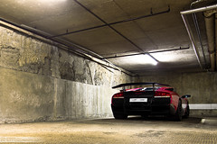 Lamborghini Murcielago LP-670 (Murphy Photography) Tags: old pink summer orange london car yellow canon lens photography eos 50mm one italian box d garage parking lot plate super harrods 350 arab lp 28 50 tamron limited lamborghini supercar sv murphy rar 2010 violett murcielago 670 177 veloce 17mm