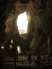 Predjamski Grad (11) - inside the cave behind the castle (marc_vie) Tags: slovenia cave slowenien grad castel burg grotte höhle slovénie slovinsko predjama lueg höhlenburg predjamski lueghi