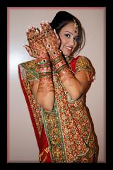 Vibhuti Patel- Wedding Day X-formation (99) (dan stefani) Tags: wedding india beautiful pretty transformation princess makeup patel hindi 2010 vibhuti danstefani