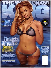 Dollicia Bryan king magazine wet issue pictures