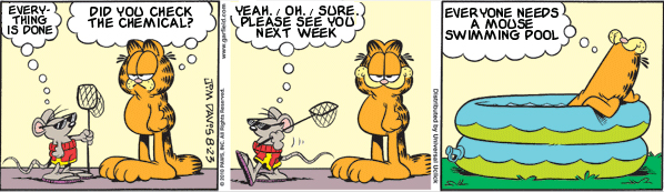 Garfield: Lost in Translation, August 23, 2010