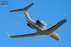 N408QS - 1308 - Netjets - Gulfstream IV SP - Luton - 100615 - Steven Gray - IMG_3775