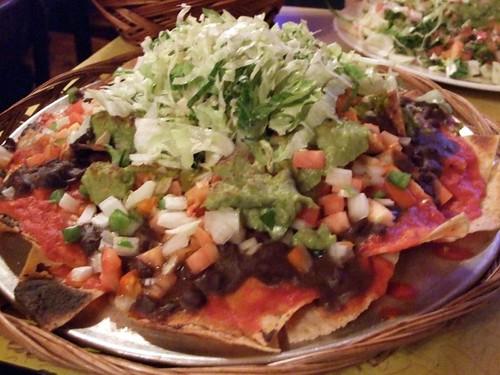 Vegan Nacho Plate