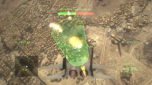 Tom Clancy?s H.A.W.X. 2 - cluster bomb