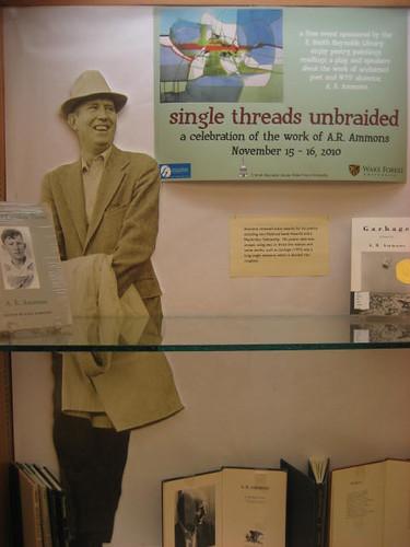 A.R Ammons exhibit