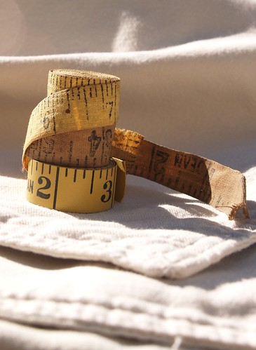 Vintage tape measures