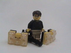 The Elusive Badger... :D (PJ_Penn) Tags: stanley cases minigun 2010 brickarms enigmabadger