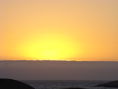 sunset (geracg) Tags: sunset sky sun mist sol beach playa amarillo ensenada puesta niebla geracg