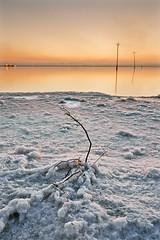 Salt & Sunset (DavidFrutos) Tags: sunset orange water atardecer agua salt paisaje alicante filter nd alfa alpha filters naranja sal waterscape torrevieja alacant filtro sigma1020mm filtros neutraldensity salinasdetorrevieja sonydslr densidadneutra davidfrutos 700 singhraygalenrowellnd3ss