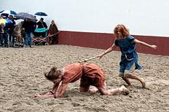 fight in the rain (hans s) Tags: fight roman archeon 2010 gladiatrix