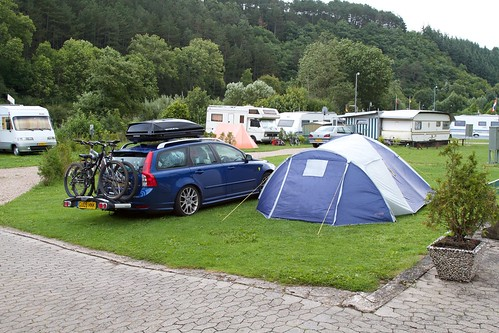 Camping near Nürburg