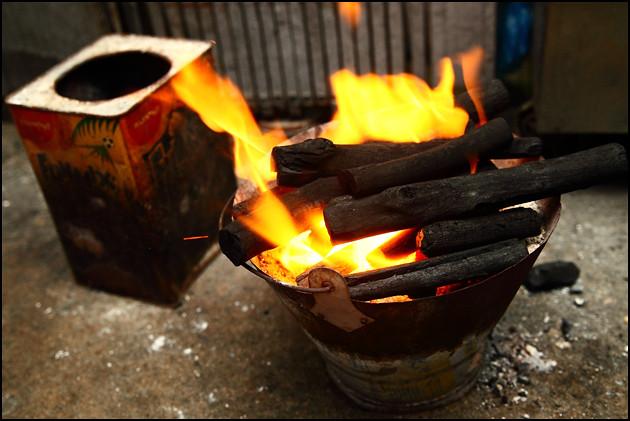 burning-charcoal