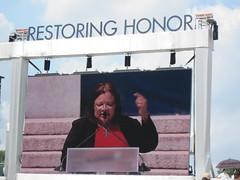Alveda King at Restoring Honor