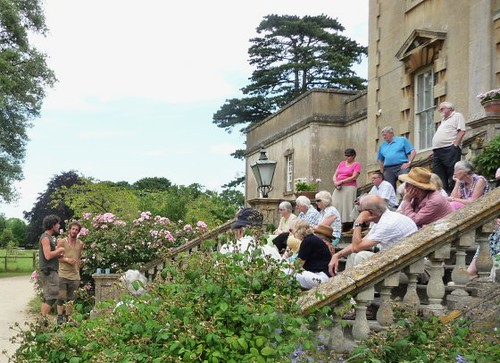Singing in Frampton Court