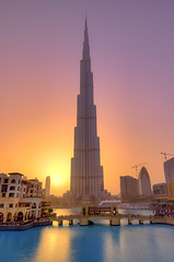 Dubai - Burj Khalifa Sunset ( Saleh AlRashaid / www.Salehphotography.net) Tags: world sunset seascape tower art sunrise landscape photo al high long exposure downtown dubai cityscape gulf state outdoor uae middleeast bin emirates zayed khalifa arab kuwait nano hdr address d3 gcc kuwaiti burj q8 highest  saleh 1635  kuwaity nahyan    emaar      stateofkuwait   d3x leefilters  alrashaid  salehalrashaid  salehphotographynet