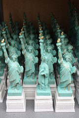 Statues of Liberty. (fabelfuchs) Tags: nyc newyork statue liberty souvenirs statues souvenir crap statueofliberty nyc2009