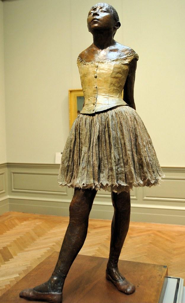 Edgar Degas - The Little Fourteen-Year-Old Dancer at New York Metropolitan Art Museum