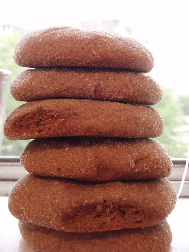 Ginger & Molasses Cookies