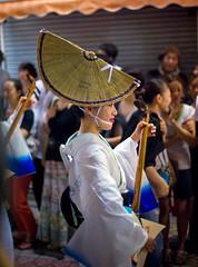 Shamisen Player In Koenji Awa Odori matsuri (aeschylus18917) Tags: musician music woman cute girl beautiful smile festival japan 50mm tokyo dance nikon dancing d f14 dancer kawaii yukata   nikkor yamato shamisen matsuri awaodori  japanesedance koenji  nikkor50mmf14d suginami    50mmf14d    nadeshiko samisen koenjiawaodori yamatonadeshiko suginamiku  utsukushii   awadancefestival sangen d700   nikond700 danielruyle aeschylus18917 danruyle druyle