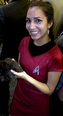 Star Trek Officer and Tribble