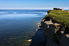 Paldiski Pakri Cape (RTsubin) Tags: world pictures blue sea summer color green beach nature water beautiful weather rock canon outside outdoors photography eos boat photo nice tallinn estonia shot image photos pics outdoor picture images location best cameras cape lovely effect breathtaking eesti paldiski estonian naturelovers 500d pakri    t1i
