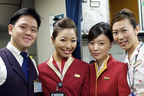 Cathay Pacific new crew uniform