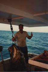 Richard with 300 lb jewfish 1987