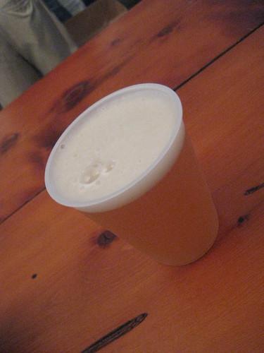 Mmmm. Weiss beer.