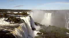 over the rainbow (acciderbolina) Tags: southamerica water argentina forest river rainbow fiume falls jungle acqua arcobaleno brasile sudamerica foresta cascate latinoamericana iguazù