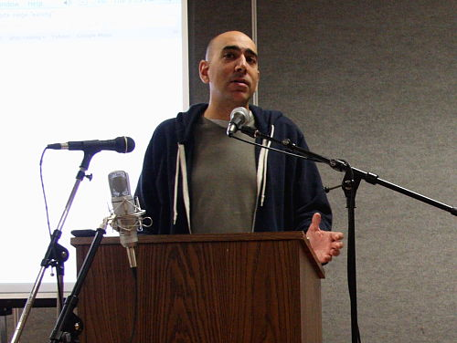 Ali Abunimah in Olympia Tuesday 31 August 2010