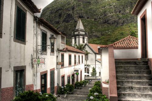 San Vicente. Madeira. Portugal