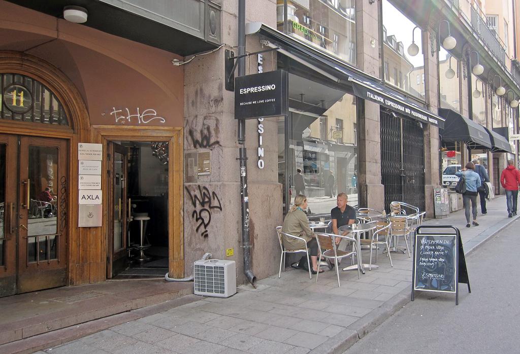 stor affär fantasi i Stockholm