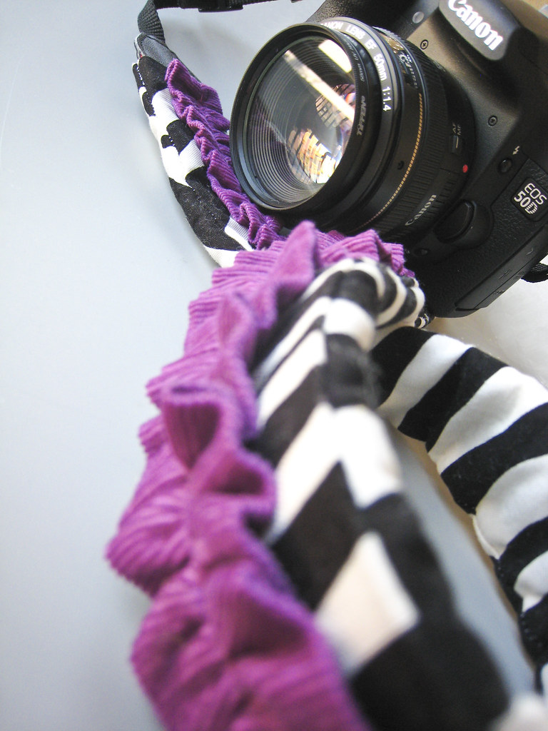camera strap slipcover