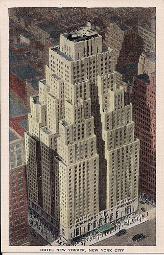 Hotel New Yorker, NYC (Postcard)