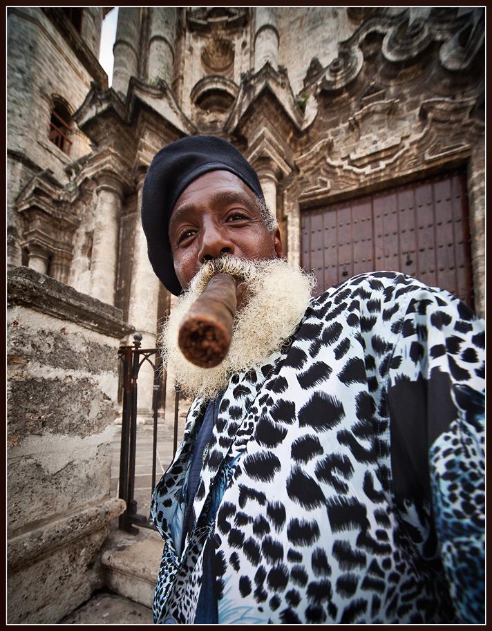wilki & his cigar :)