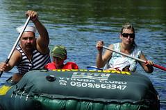 20.8.10 Vyssi Brod Weir 8 213 (donald judge) Tags: water river kayak republic czech canoe raft vltava brod weir vy southbohemia