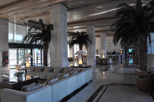 Lobby y recepción
