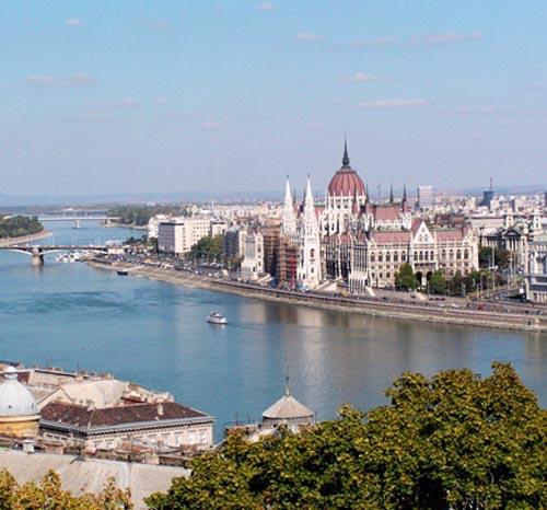 Panorama di Budapest
