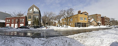 Armitage/Winchester panorama (Pixel Rally) Tags: winter snow chicago il blizzard snowdrifts 2011 snowpocalypse snowpiles chicagoblizzard2011