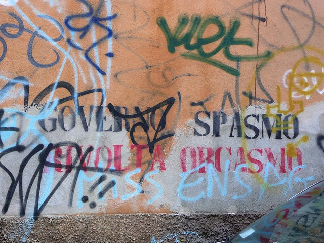 GOVERNO SPASMO - RIVOLTA ORGASMO