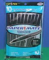 10 Black Paper Mate Penssmall