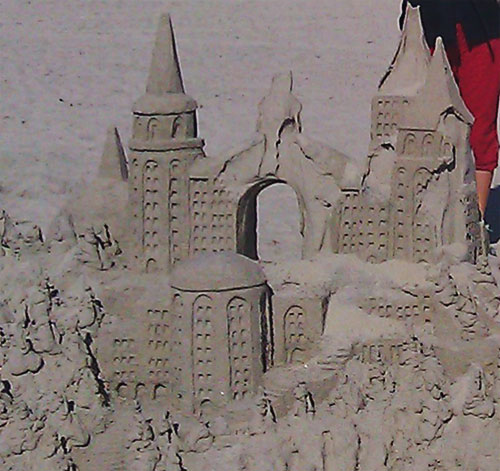 Sandcastle Close Up
