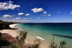 Nelsons Beach, Huskisson, NSW, Australia (Black Diamond Images) Tags: ocean beach australia nsw beaches southcoast jervisbay huskisson australianbeach bdi nelsonsbeach australianbeaches beachaustralia idyllicbeach jervisbayheads