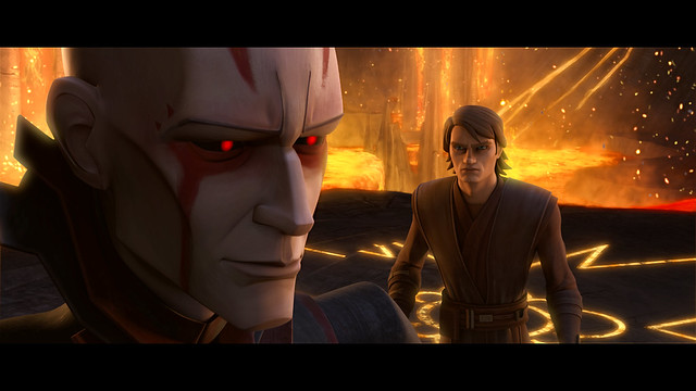 Anakin and The Son: Clone Wars still