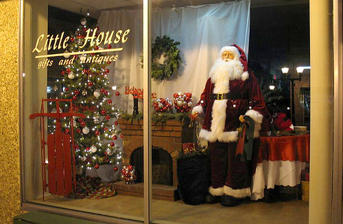 2010 Christmas Window Display