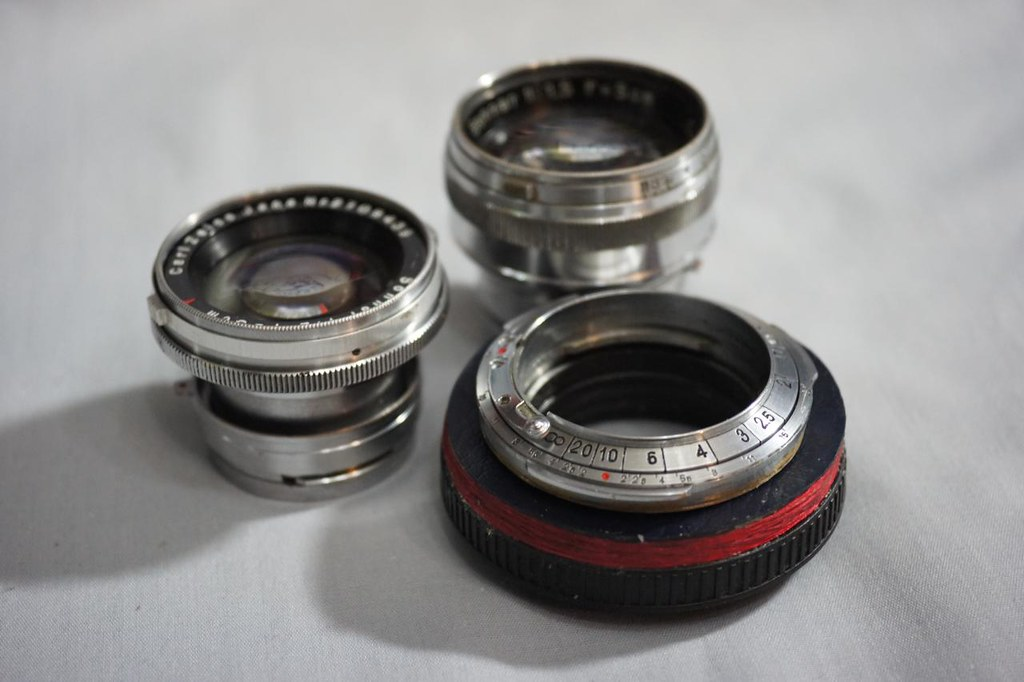 CONTAX RF => Sony NEX DIY adapter