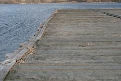 Landebrücke am Haddebyer Noor in Haithabu Wikinger Museum WHH 08-02-2011