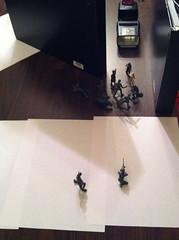 "setup for ""little green men"" (smswigart) Tags: green setup armymen"